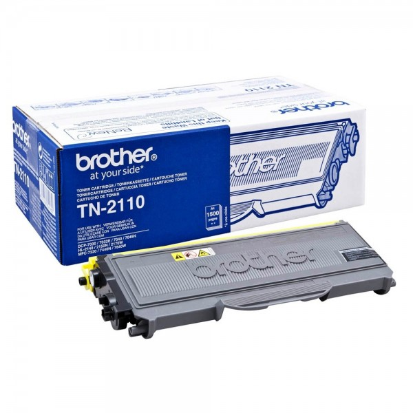 Brother TN-2110 Toner DCP-7030 7040 7045N HL-2140 2150N HL-2170W MFC-7320 MFC-7440 7840W