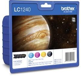 Brother Tintenpatronen ValuePack LC1240 cmyk DCP-J725DW MFC-J6510DW MFC-J6710DW MFC-J6910DW