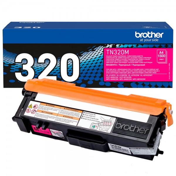 Brother Toner Magenta TN-320M für DCP-9270 DCP-9055 HL-4140 HL-4150 MFC-9460