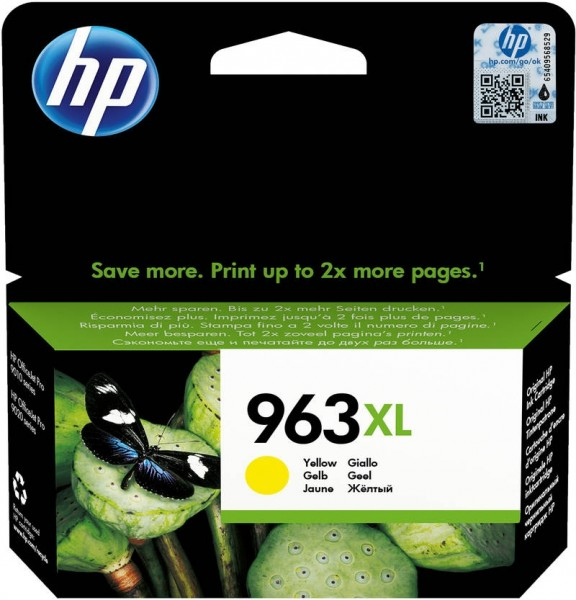 HP 963XL Tintenpatrone gelb für OfficeJet Pro 9010 9012 9014 9015 3JA29AE