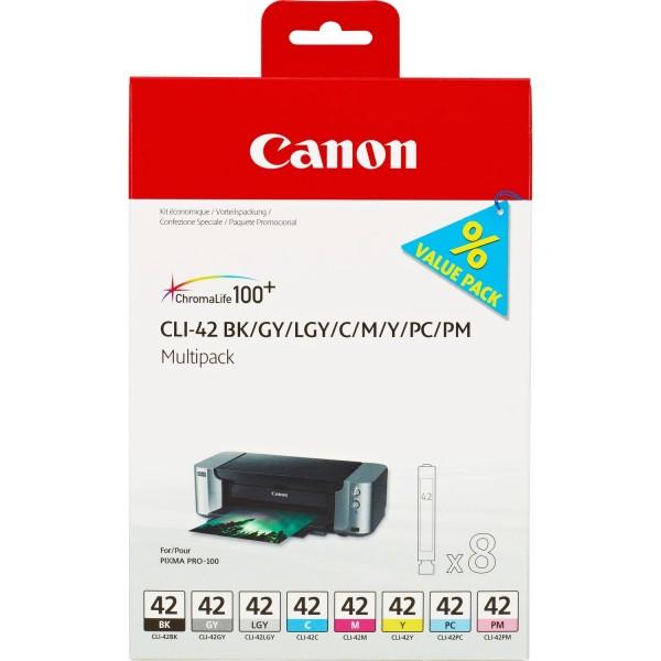 Canon CLI-42 Tinte Multipack für PIXMA PRO-100 6384B010