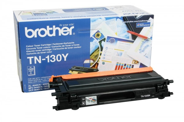 Brother Toner yellow TN-130Y DCP-9042CDN HL-4040CN HL-4070CDW