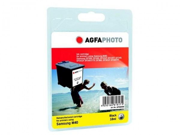 AGFAPHOTO SM40B Samsung SF335 Tinte Black18ml black