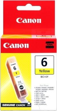 CANON BCI-6Y Tinte gelb PIXMA IP3000 IP4000 iP4000R iP5000