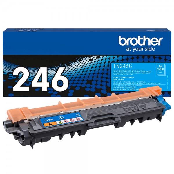 Brother TN-246C Toner Cyan HL-3142CW HL-3152CDW 3172 DCP-9022 MFC-9142 MFC-9342