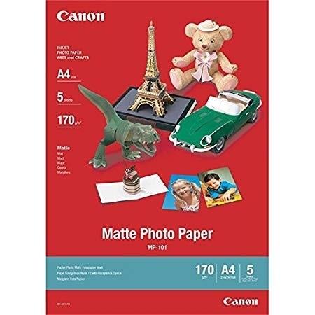 Canon MP-101 matte Fotopapier A4 5 Blatt 7981A042