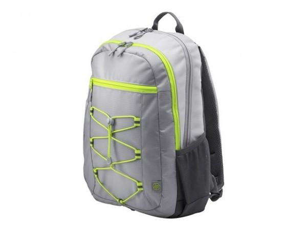 HP Active Backpack 39,62cm 15,6Zoll Grey/Neon Yellow