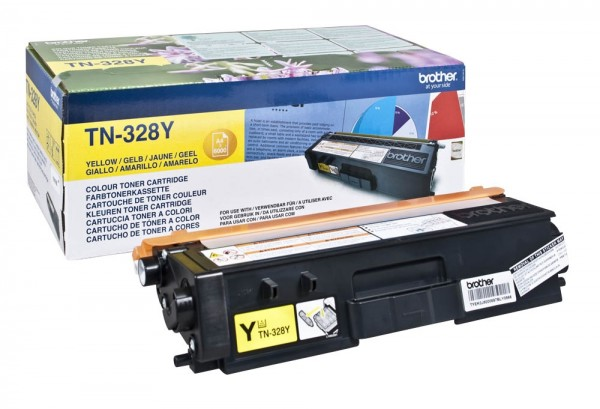 Brother TN-328Y Toner Yellow DCP-9270 HL-4570 Brother MFC-9970
