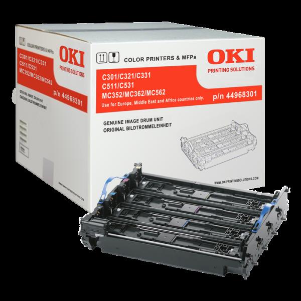 OKI 44968301 Bildtrommel C301 C321 C331 C511 C531 MC342 MC352 MC362 MC363 MC562