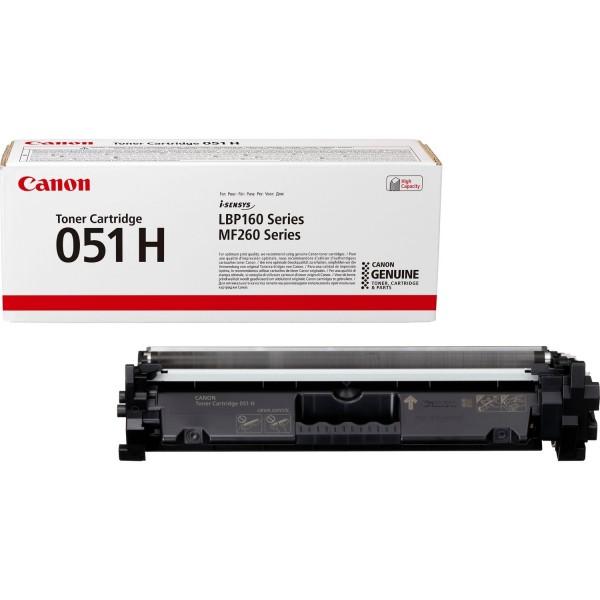 Canon 051H Toner schwarz 2169C002 für i-SENSYS LBP162dw MF264dw MF267dw MF269dw