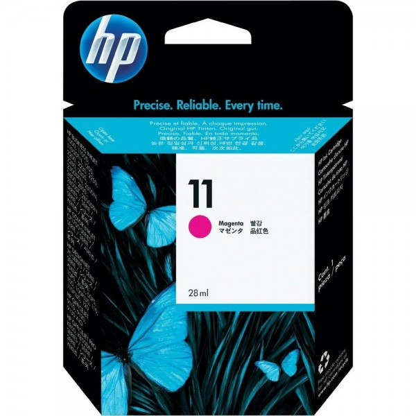 HP 11 Tinte Magenta für Business InkJet 2200 2250 Color InkJet 1700 2600