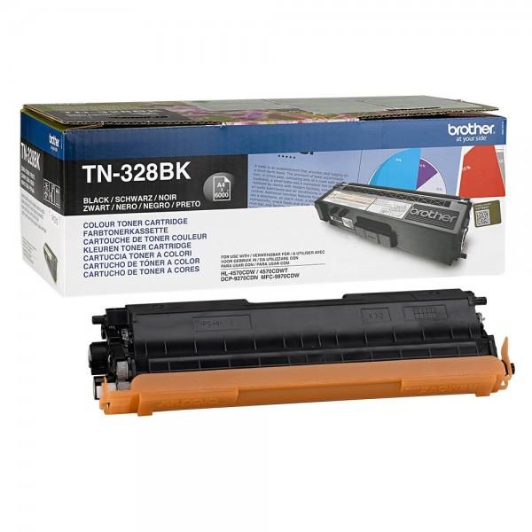 Brother TN-328BK Toner Black DCP-9270, HL-4570 MFC-9970