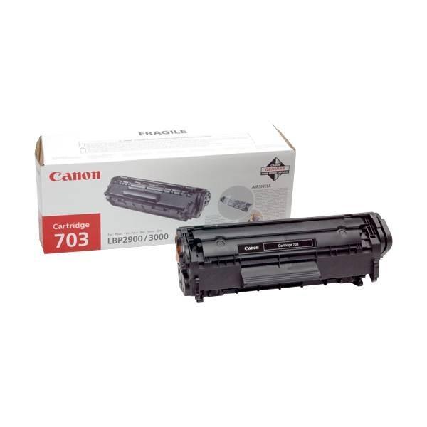 CANON 703 Toner Black Canon LBP2900 / LBP3000 EP-703 7616A005