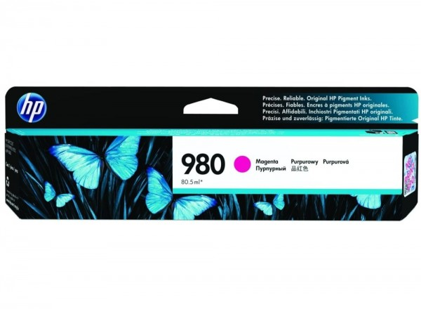 HP 980 Magenta Tinte für HP OfficeJet Pro X555 X585 D8J08A