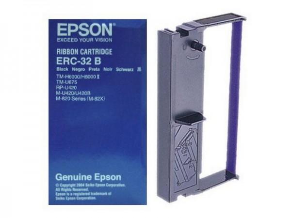 Epson ERC-32B Farbbandkassette schwarz für TM-U675 TM-H6000 Serie