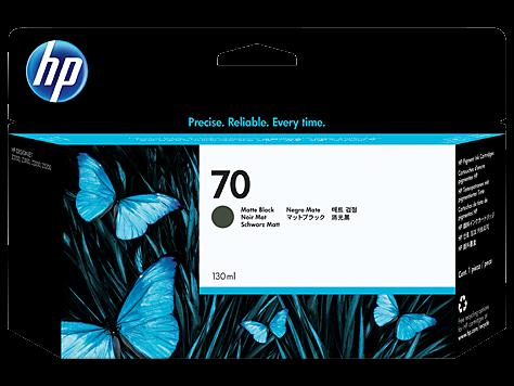 HP 70 Tinte Matte Black Z2100 Z3100 Z5200 HP Vivera Tinte C9448A