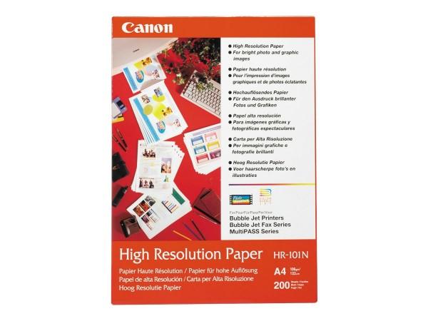Canon HR-101 high resolution Papier inkjet 110g/m² A4 200 Blatt 1er-Pack
