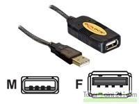 DeLock USB 2.0 Verlängerung 10 m