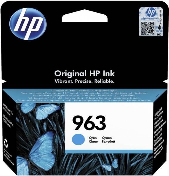 HP 963 Tintenpatrone cyan für OfficeJet Pro 9010 9012 9014 9015 3JA23AE