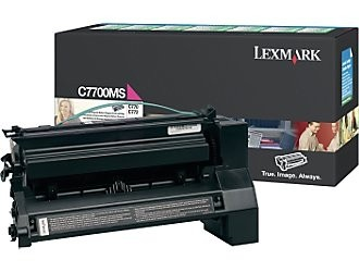 Lexmark C770N C772N X772E Toner Magenta Rückgabe Tonerkassette