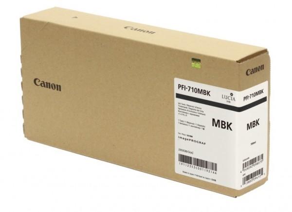Canon PFI-710MBK Tinte mattschwarz 2353C001 für imagePROGRAF TX-2000 TX-3000 TX-4000