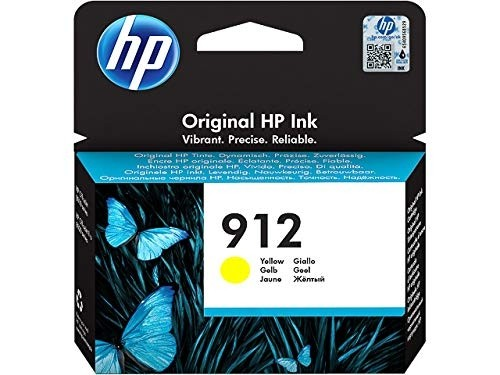 HP 912 Tintenpatrone gelb 3YL79AE für OfficeJet 8012 8014 8015 Officejet Pro 8022 8024 8025 8035