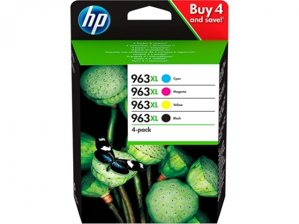HP 963XL Tintenpatrone Multipack für OfficeJet Pro 9010 9012 9014 9015 3YP35AE