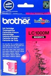 Brother Tintenpatrone Magenta LC1000M