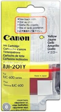 CANON BJI-201 Yellow Tintenpatrone für BJC 600 Serie