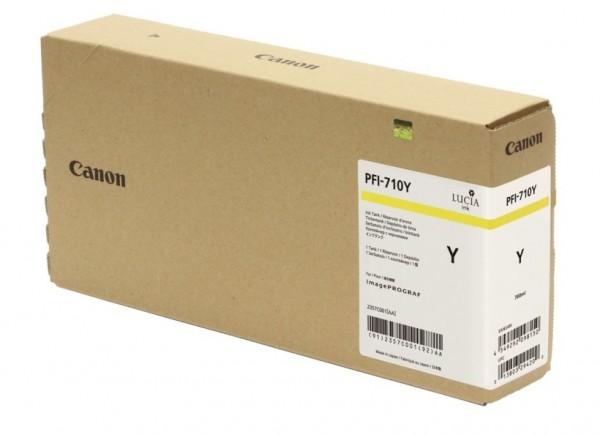 Canon PFI-710Y Tinte gelb 2357C001 für imagePROGRAF TX-2000 TX-3000 TX-4000