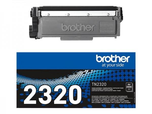 Brother TN-2320 Toner Black DCP-L2500D L2540 HL-L2360 MFC-L2720 L2740DW