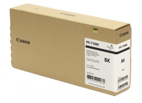 Canon PFI-710BK Tinte schwarz 2354C001 für imagePROGRAF TX-2000 TX-3000 TX-4000