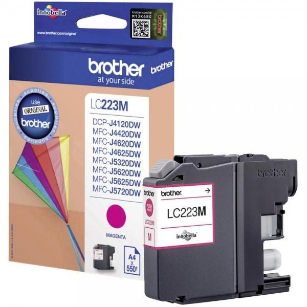 Brother LC-223M Tinte Magenta Original MFC-J4620DW J4625DW J5620DW MFC-J5720DW