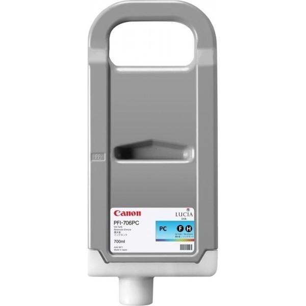 CANON PFI-706PC Tinte foto cyan Standardkapazität iPF8400 iPF9400