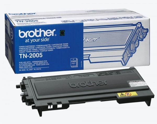 Brother TN-2005 Toner Schwarz für HL-2035 HL-2037 Original