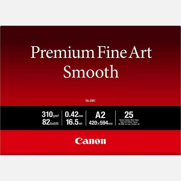 Canon FA-SM1 A2 Fine Art Papier 310 g/m² 25 Blatt