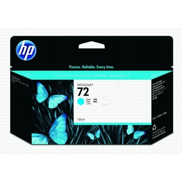 HP 72 Tinte cyan HP DesignJet T610 T620 T770 T1100 T1200 T1300 T2300 C9371A