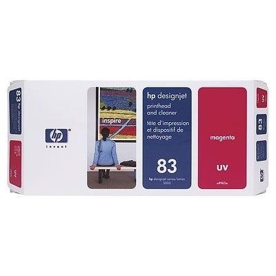HP 83 Druckkopf Magental C4962A incl. Druckkopf Reiniger DJ5000 DJ5500 UV