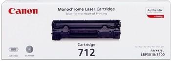 Canon 712 Toner Black 1870B002 LBP3010 LBP-3010 EP712