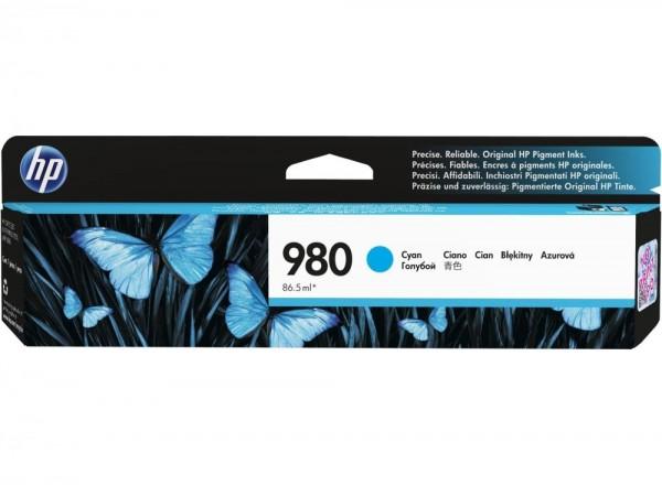 HP 980 Cyan Tinte für HP OfficeJet Pro X555 X585 D8J07A