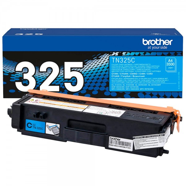 Brother Toner Cyan TN-325C DCP-9270 9055 HL-4140 4150 MFC-9460