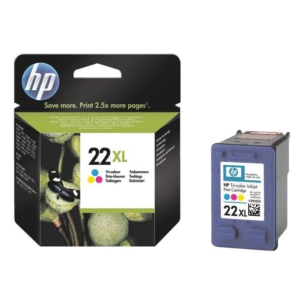 HP 22XL Tintenpatrone Tri-color No.22XL C9352CE