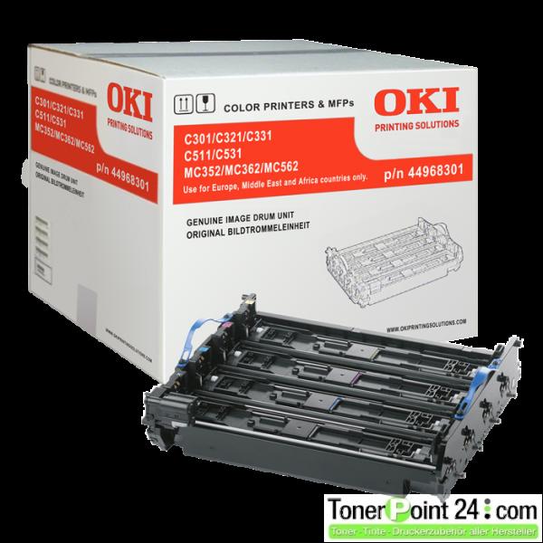 OKI 44968301 Bildtrommel C301 C321 C331 C511 C531 MC342 MC352 MC362 MC562
