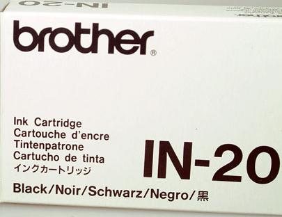 Brother IN-20 Tintenpatrone Black HJ-770 IBM 4072 BJ-300 P670 MT 93 94