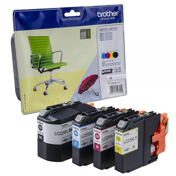 Brother LC229XLVALBPDR Tinte Multipack Patrone HC MFC J5320DW J5620 J5720