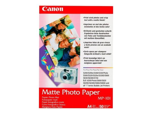 Canon MP-101 matte Fotopapier 170g/m² A4 50 Blatt 1er-Pack
