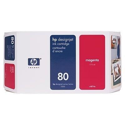 HP 80 Tinte Magenta C4874A für HP DesignJet 1050C 1055CM