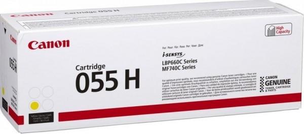 Canon Cartridge 055HY gelb für Color imageCLASS MF743CDW 3017C002