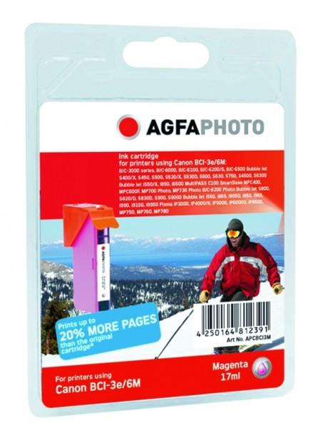 AGFAPHOTO CBCI3M Canon BJC-6000 Tinte magenta