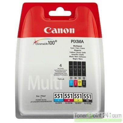 Canon Tinte Multi Pack CLI-551Z MG5450  MG6350  IP7250